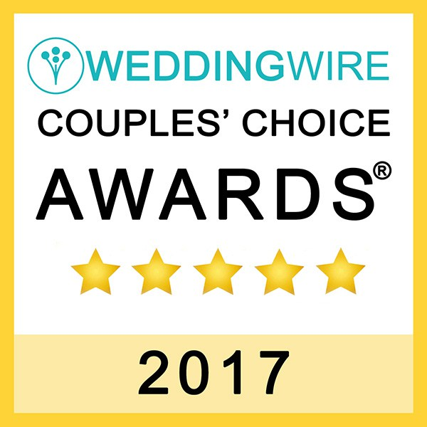 Michael + Rhi Photography, WeddingWire Couples' Choice Award Winner 2017